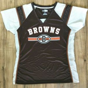 NFL Cleveland Browns Womens Jersey Size Large
